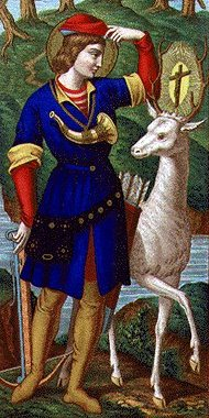 ST. HUBERT, Patron of Hunters